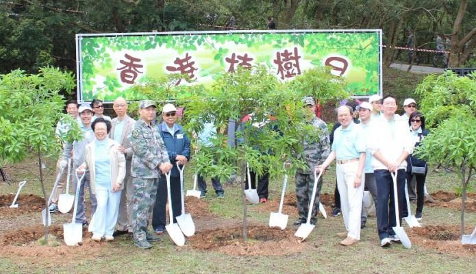 綠的歡欣「香港植樹日」
